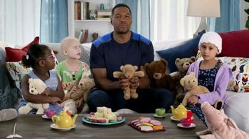 St. Jude Children's Research Hospital TV Spot, 'Teddy Tea Party' Featuring Michael Strahan - Thumbnail 4