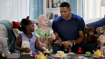 St. Jude Children's Research Hospital TV Spot, 'Teddy Tea Party' Featuring Michael Strahan - Thumbnail 7