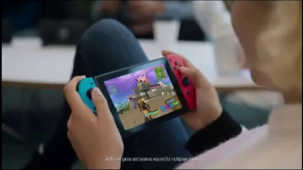 Nintendo Switch TV Commercial,  'Get Into It' Song by WILD