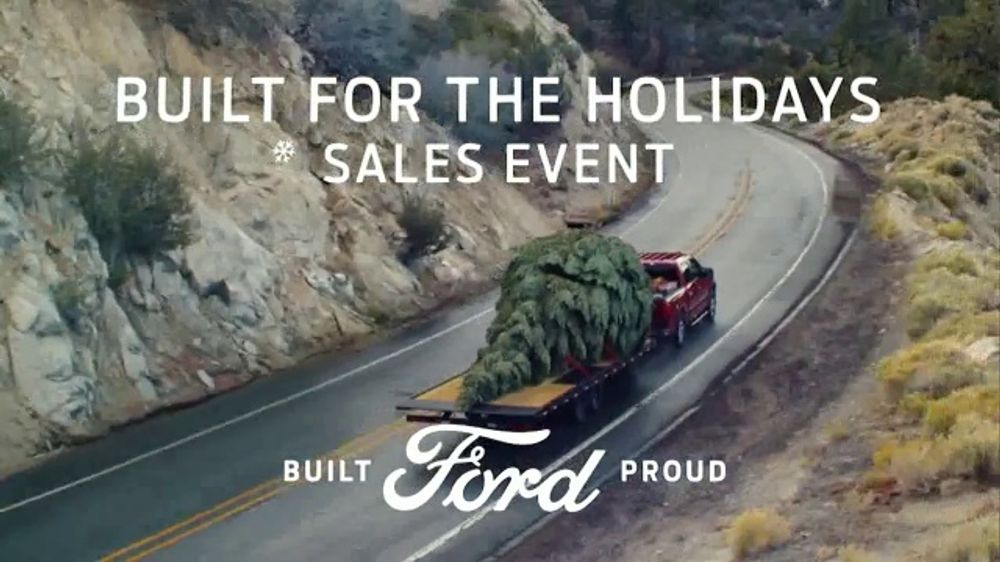Ford Escape Christmas Tree Commercial 2020 Youtube Ford Built for the Holidays Sales Event TV Commercial, 'Bring the