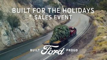 Ford Built for the Holidays Sales Event TV Spot, \'Bring the Tree\' [T1]