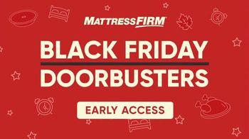 Mattress Firm Black Friday Doorbusters TV Spot, 'Early Access: Beautyrest Queens & Body Pillows' - Thumbnail 2