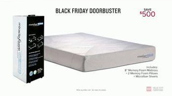 Value City Furniture Black Friday Sale TV Spot, 'Memory Foam Mattress' - Thumbnail 6