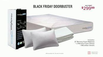 Value City Furniture Black Friday Sale TV Spot, 'Memory Foam Mattress' - Thumbnail 7