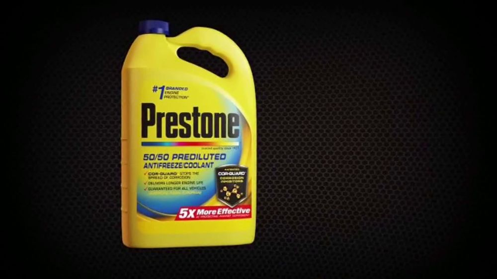 Prestone with Cor-Guard TV Commercial, 'Five Times Better'