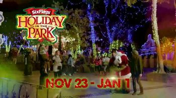 Six Flags Cyber Sale TV Spot, 'Holiday in the Park: Free Parking Pass' - Thumbnail 1