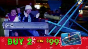 Six Flags Cyber Sale TV Spot, 'Holiday in the Park: Free Parking Pass' - Thumbnail 7