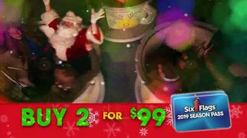 Six Flags Cyber Sale TV Spot, 'Holiday in the Park: Free Parking Pass' - Thumbnail 8