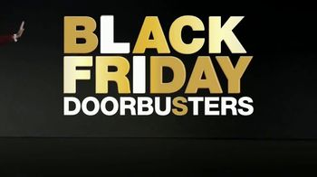Macy's Black Friday Doorbusters TV Spot, 'Coats, Fragrances, Cosmetics and Cashmere Sweaters' - Thumbnail 1