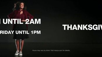 Macy's Black Friday Doorbusters TV Spot, 'Coats, Fragrances, Cosmetics and Cashmere Sweaters' - Thumbnail 2