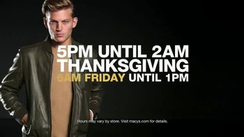 Macy's Black Friday Doorbusters TV Spot, 'Coats, Fragrances, Cosmetics and Cashmere Sweaters' - Thumbnail 3