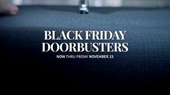 JoS. A. Bank Black Friday Doorbusters TV Spot, 'Traveler Sweaters and Sportcoats'