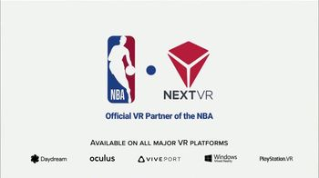 NextVR TV Spot, 'NBA in NextVR is Back!' - Thumbnail 9