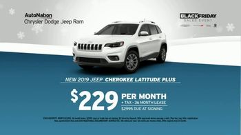 AutoNation Black Friday Sales Event TV Spot, 'More Under the Tree: 2019 Jeep Cherokee' - Thumbnail 4