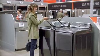The Home Depot Black Friday Savings TV Spot, 'Major Appliances and Laundry Pair'