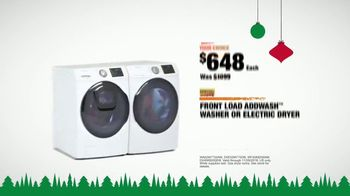 The Home Depot Black Friday Savings TV Spot, 'Major Appliances and Laundry Pair' - Thumbnail 10