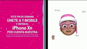 T-Mobile TV Spot, '2018 Holidays: iPhone XR: oso' [Spanish] - 222 commercial airings