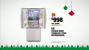 The Home Depot Black Friday Savings TV Spot, 'Major Appliances and Refrigerator' - 959 commercial airings