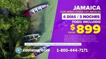 Costamar Travel TV Spot, 'Punta Cana, Riviera Maya, Jamaica, Ensenada & Cozumel' [Spanish] - Thumbnail 3