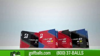 Golfballs.com TV Spot, 'Holiday Savings: Tour B Series and Bridgestone e6' - 237 commercial airings