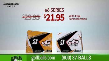 Golfballs.com TV Spot, 'Holiday Savings: Tour B Series and Bridgestone e6' - Thumbnail 4