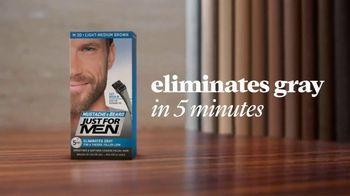 Just For Men Mustache & Beard TV Spot, 'Eliminate Gray' - Thumbnail 9