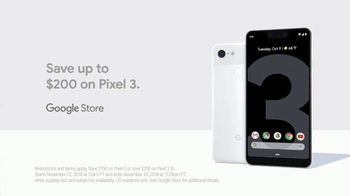Google Pixel 3 TV Spot, 'Battery: $200 Off' Song by Super Duper - Thumbnail 9