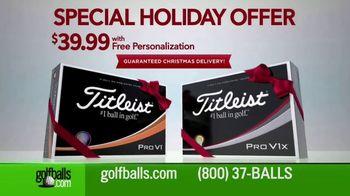 Golfballs.com TV Spot, 'Special Holiday Offer: Titleist Pro V1'
