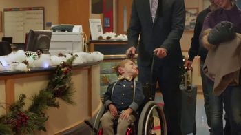 Shriners Hospitals for Children TV Spot, 'Home for Christmas' Featuring Trace Adkins - Thumbnail 3
