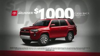 Toyota Black Friday Takeover TV Spot, '2018 4Runner and Tacoma' [T2] - Thumbnail 3