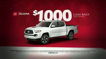 Toyota Black Friday Takeover TV Spot, '2018 4Runner and Tacoma' [T2] - Thumbnail 4