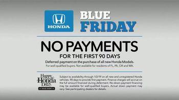 Honda Blue Friday TV Spot, 'Head Start on the Holidays' [T2] - Thumbnail 4