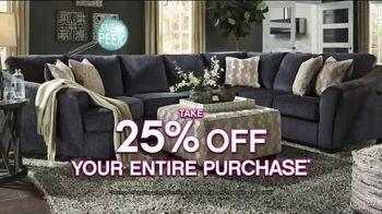 Ashley HomeStore Black Friday Sneak Peek TV Spot, 'Beat the Crowds' - Thumbnail 4