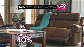 Ashley HomeStore Black Friday Sneak Peek TV Spot, 'Beat the Crowds' - Thumbnail 5