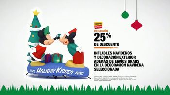 The Home Depot Black Friday Savings TV Spot, 'Toques mágicos: inflables' [Spanish] - Thumbnail 9