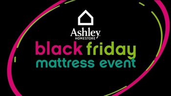Ashley HomeStore Black Friday Mattress Event TV Spot, 'Perfect Time to Buy a Mattress' - Thumbnail 2