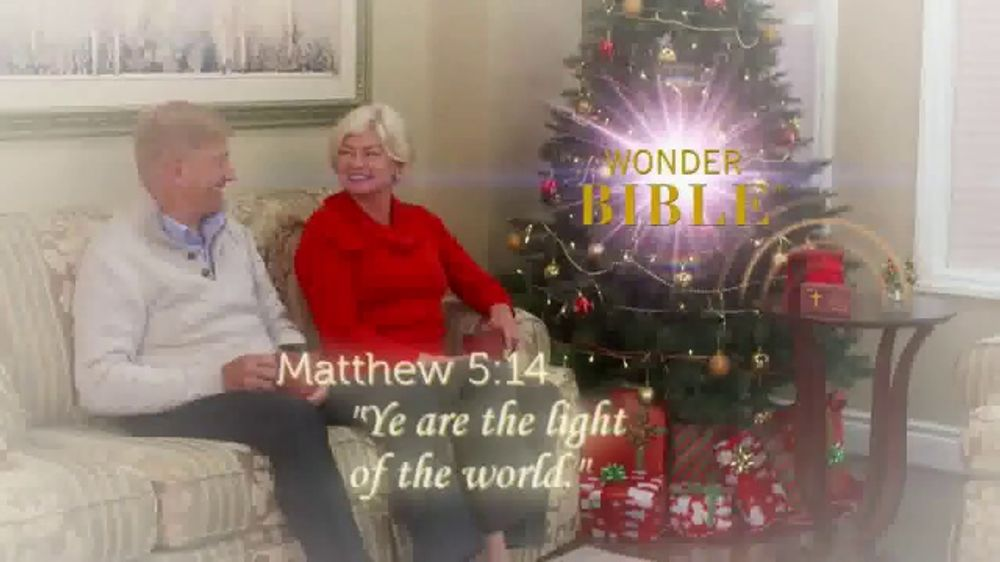 Wonder Bible TV Commercial, 'Perfect Gift' Featuring Pat Boone