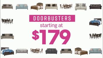 Ashley HomeStore Cyber Week Sale TV Spot, 'Doorbusters'
