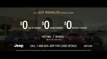 Jeep Black Friday Sales Event TV Spot, 'No Limit' Song by Black Rebel Motorcycle Club [T2] - Thumbnail 9