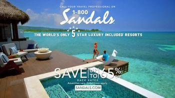 Sandals Resorts TV Spot, 'What Is Luxury?' - Thumbnail 7