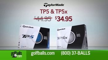 Golfballs.com TV Spot, 'Holiday Savings: Taylor Made, Bridgestone Tour B, E6 Soft & Callaway'