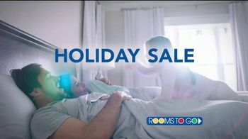 Rooms to Go Holiday Sale TV Spot, 'Best Night's Sleep'