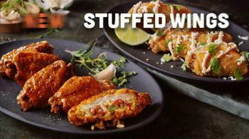 Hooters Stuffed Wings TV Spot, 'Stuffed How?'
