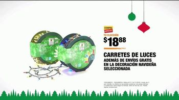 The Home Depot TV Spot, 'Holidays: arretes de luces' [Spanish] - Thumbnail 8