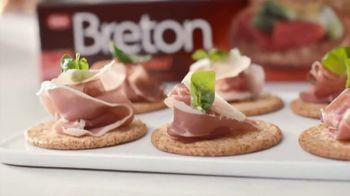 Breton Original TV Spot, 'Appetizers' Featuring Kayne Raymond