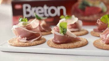 Breton Original TV Spot, 'Appetizers' Featuring Kayne Raymond - 121 commercial airings