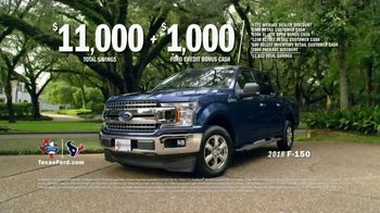2018 Ford F-150 TV Spot, 'Houston Is Resilient' Featuring J.J. Watt [T2] - Thumbnail 7