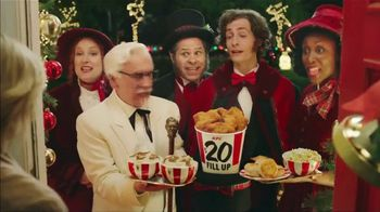 KFC $20 Fill Up TV Spot, '2018 Holidays: Carolers' - Thumbnail 6
