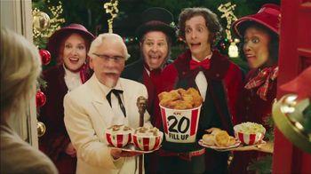 KFC $20 Fill Up TV Spot, '2018 Holidays: Carolers' - Thumbnail 7
