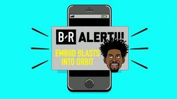 Bleacher Report App TV Spot, 'Embiid Blasts Into Orbit' - Thumbnail 2